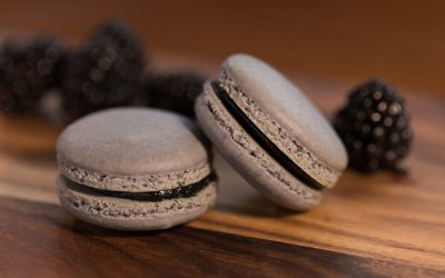Blackberry Flavored French Macaron Recipe
