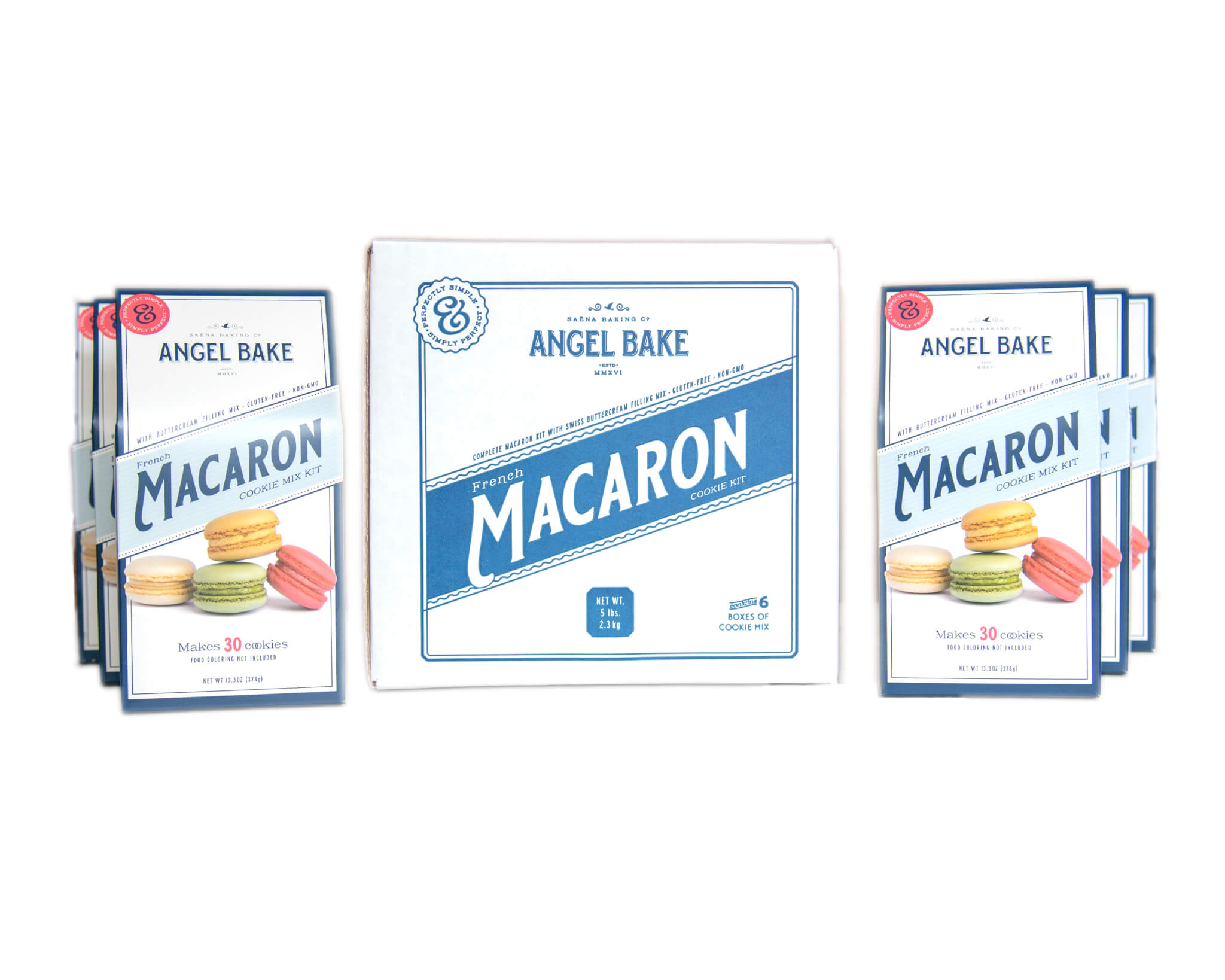 French Macaron Mix 6 Pack