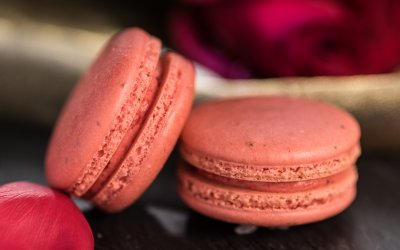 Rose Flavored French Macaron Recipe